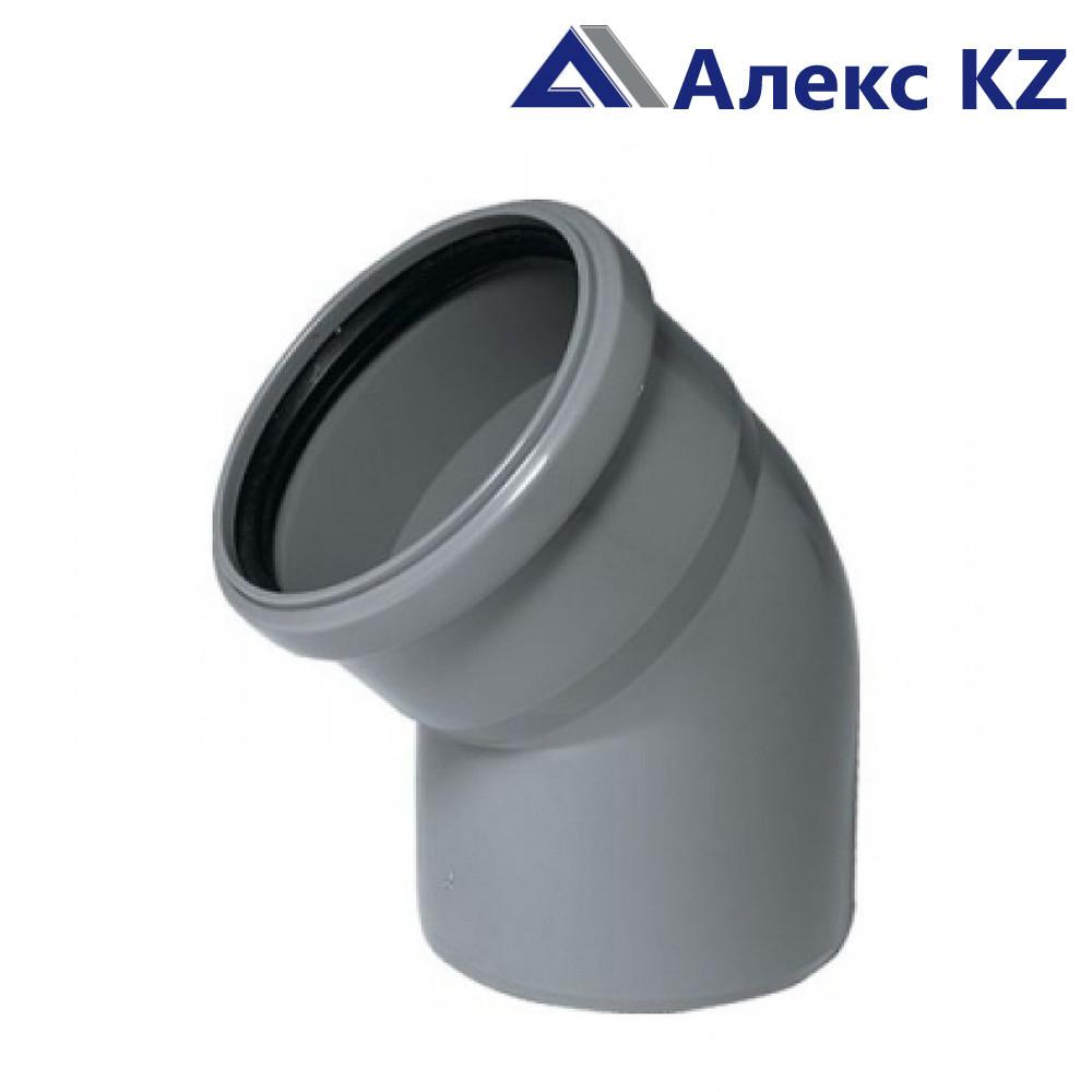 Отвод канализационный 110*45  РТП