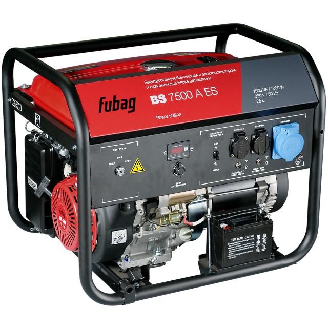 Генератор бензиновый BS 7500 A ES 7 кВт