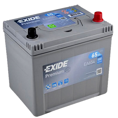 EXIDE Premium EA 654 65Ah