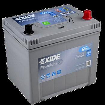 Аккумулятор EXIDE Premium EA 654 65Ah