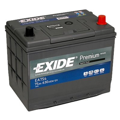 EXIDE Premium EA 754 75Ah