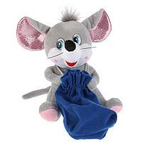 """Мульти-Пульти Мягкая игрушка """"Мышь с мешочком"""", 18см"""