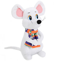 """Мульти-Пульти Мягкая игрушка """"Мышь в шарфе"""", 18см"""