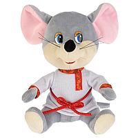 """Мульти-Пульти Мягкая игрушка """"Мышь в белой рубахе"""", 18см"""