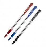Ручка шариковая красная, 0,5мм, Сello Finegrip