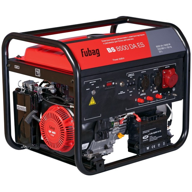Генератор бензиновый BS 8500 DA ES 8 кВт