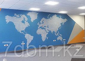 Трафаретная роспись стен, фото 2