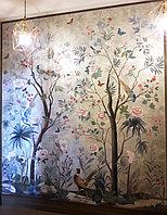 Роспись  по декоративной штукатурке