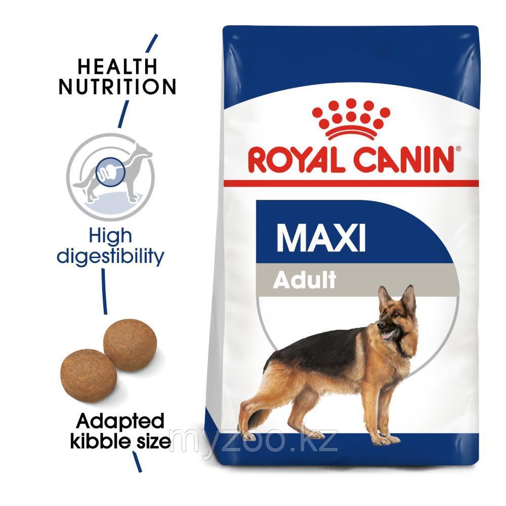 Корм для собак крупных пород Royal Canin MAXI ADULT 4kg.