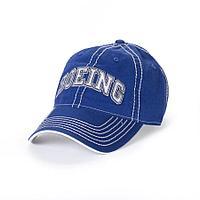 Кепка Boeing, с названием компании, синий/белый цвет