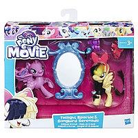 Hasbro My Little Pony E0996 Игровой набор Уроки Дружбы Искорка и Серенада