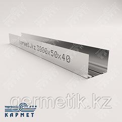 Профиль стоечный (ПС)  50x40х3000х0,6 мм