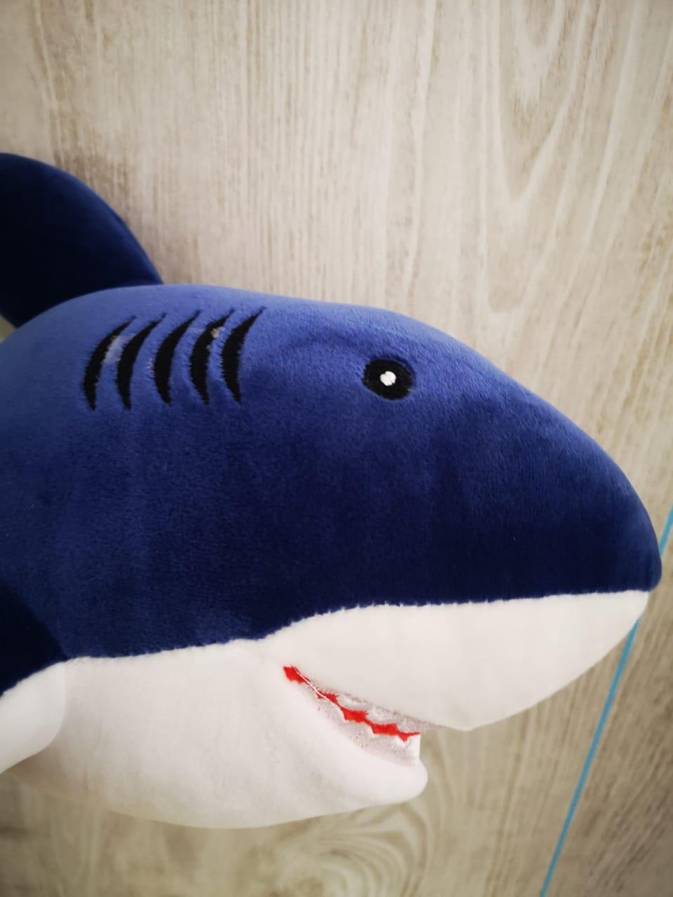 Мягкая игрушка Акула 50 см. - фото 4