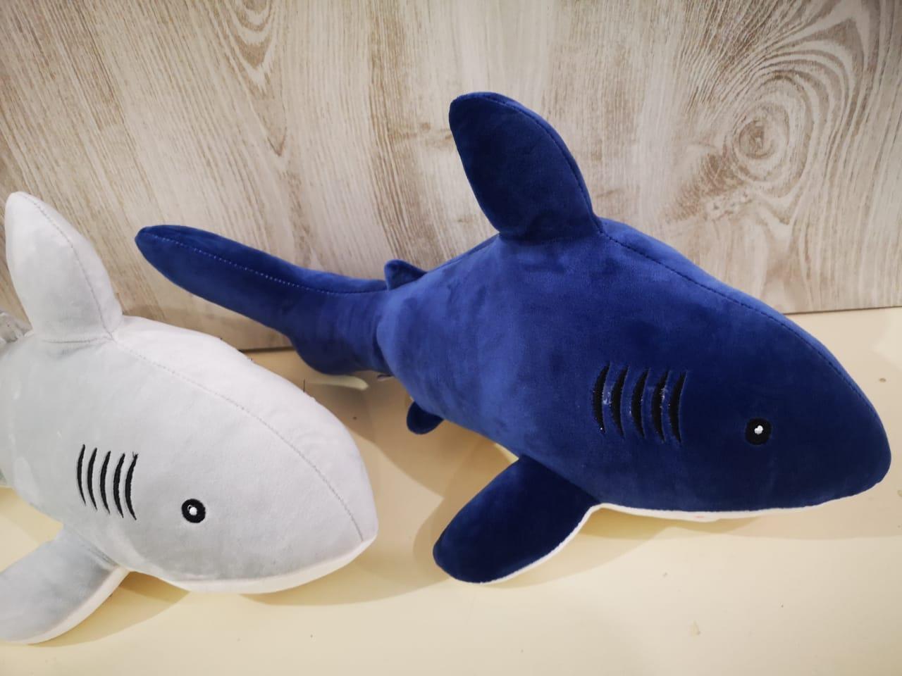 Мягкая игрушка Акула 50 см. - фото 2
