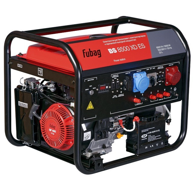 Генератор бензиновый BS 8500 XD ES 8 кВт