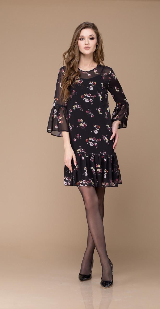 Платье Svetlana Style-1175, черный, 44