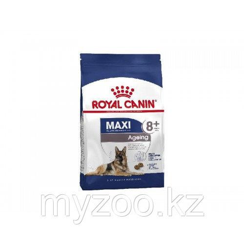 Корм для стареющих собак крупных пород Royal Canin MAXI AGEINC 8+15 kg.