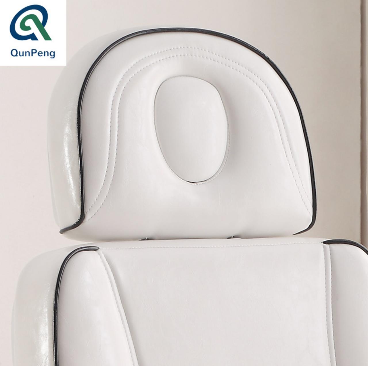 Кресло кушетка для косметолога / массажиста с электроприводом Люкс - фото 5