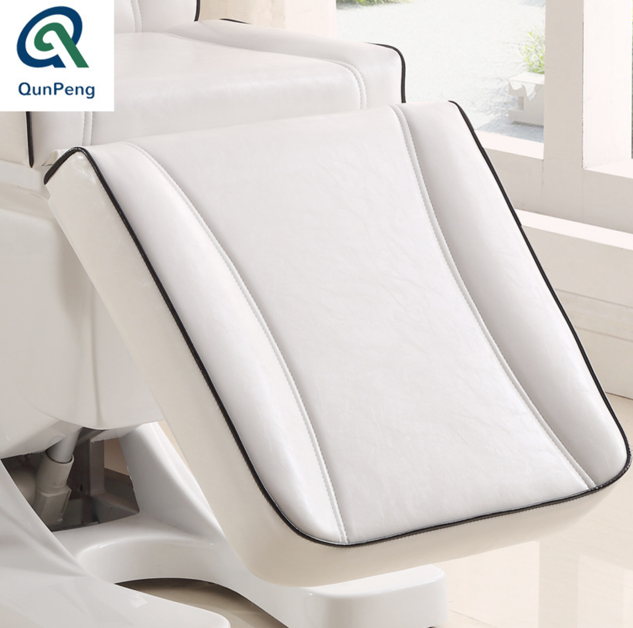 Кресло кушетка для косметолога / массажиста с электроприводом Люкс - фото 7