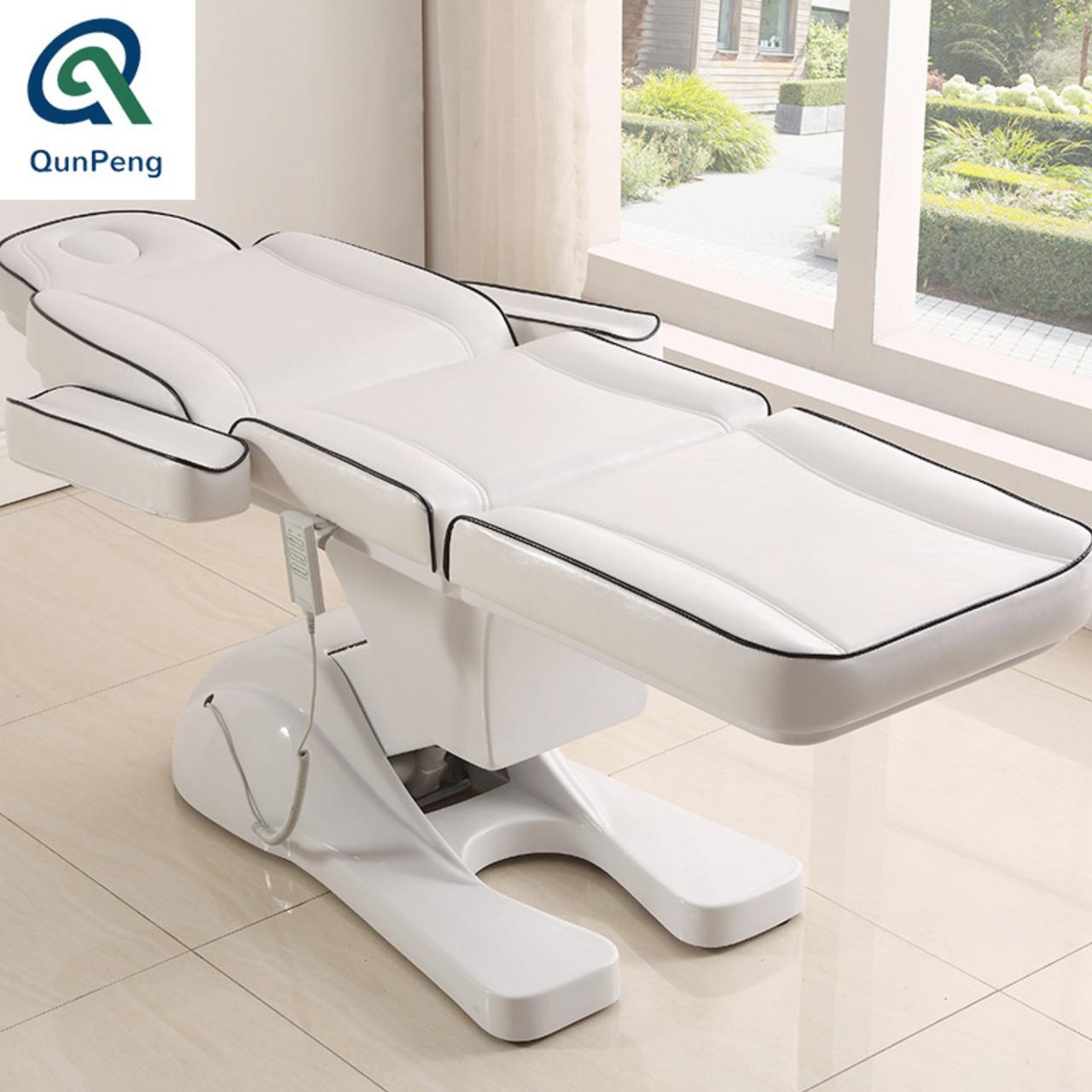 Кресло кушетка для косметолога / массажиста с электроприводом Люкс - фото 8
