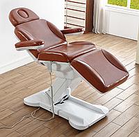 Кресло кушетка для косметолога / массажиста с электроприводом Люкс