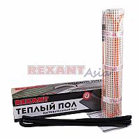 Теплый пол, 0,7м² (0,5 х 1,4 метра),(нагревательный мат) REXANT Extra,112Вт, (двух жильный), 51-0501