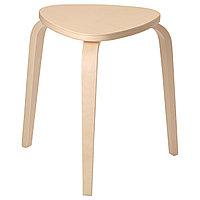 Табурет КЮРРЕ береза ИКЕА, IKEA., фото 1