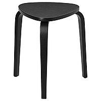 Табурет КЮРРЕ черный ИКЕА, IKEA