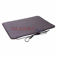Коврик с подогревом REXANT RNX-50, 220 В, 50 Гц, 50 Вт, IPX1, 400х600 мм, (51-0550)