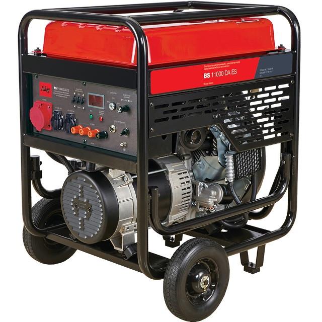 Генератор бензиновый BS 11000 DA ES 10 кВт