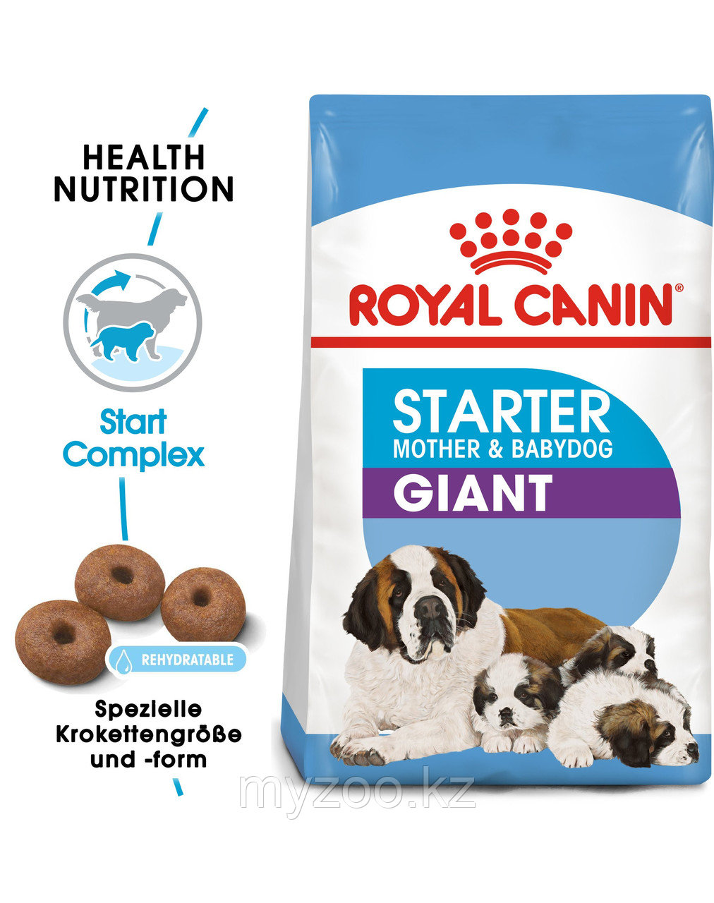 Корм для кормящих собак гигантских пород Royal Canin GIANT STARTER M&B 18 kg.