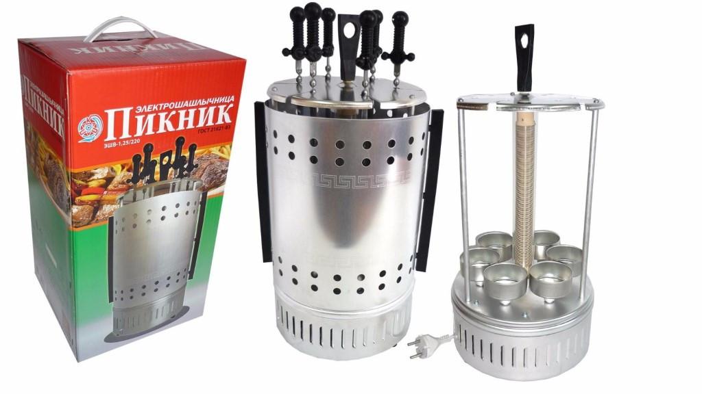 Электрошашлычница (шашлычница) Пикник ЭШВ-1,25