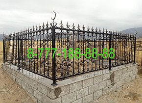 Мусульманская могила из кирпича, фото 2
