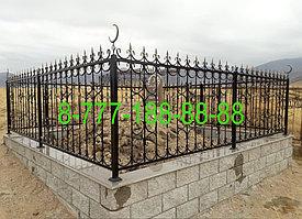 Мусульманская могила из кирпича