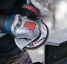 Угловая шлифмашина Bosch, с X-LOCK. GWX 10-125, Professional, фото 2