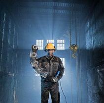 Угловая шлифмашина Bosch, с X-LOCK. GWX 10-125, Professional, фото 3