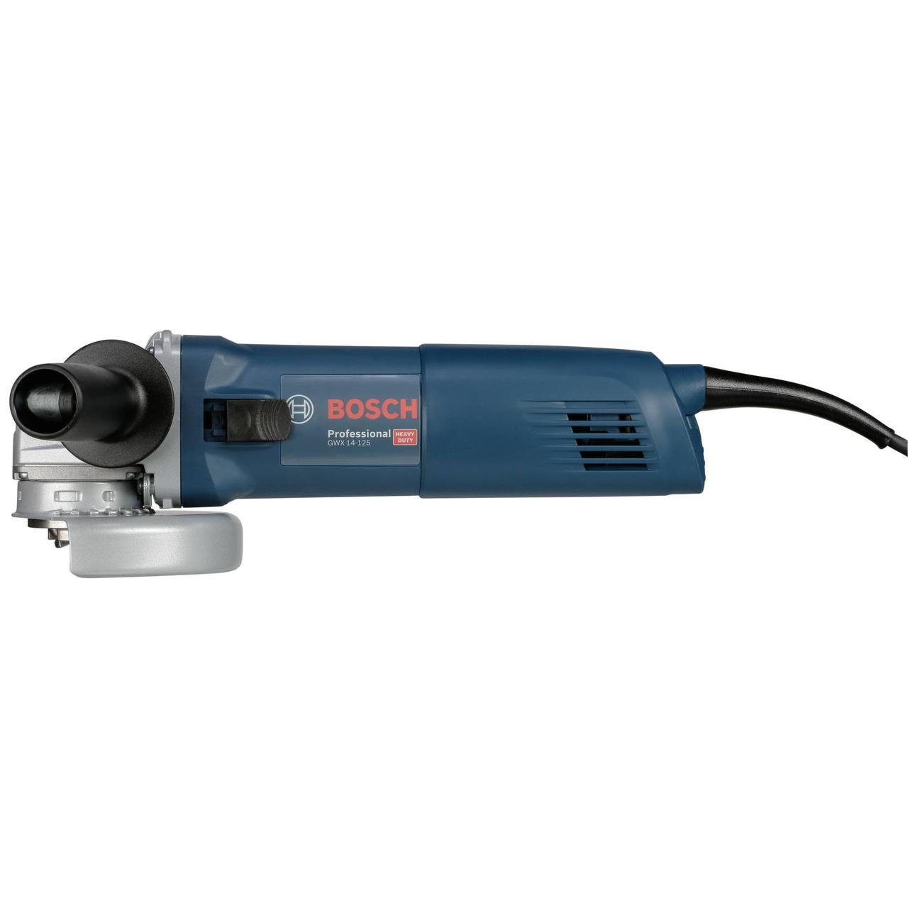 Угловая шлифмашина Bosch, с X-LOCK. GWX 14-125, Professional