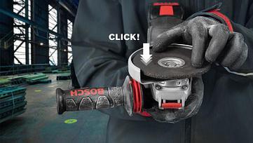 Угловая шлифмашина Bosch, с X-LOCK. GWX 14-125, Professional, фото 2