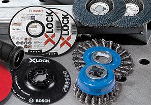 Угловая шлифмашина Bosch, с X-LOCK. GWX 14-125, Professional, фото 3