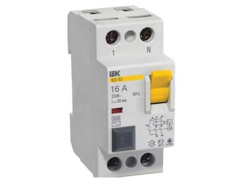 Автоматический выключатель IEK ВА47-29 (2ф) 63А