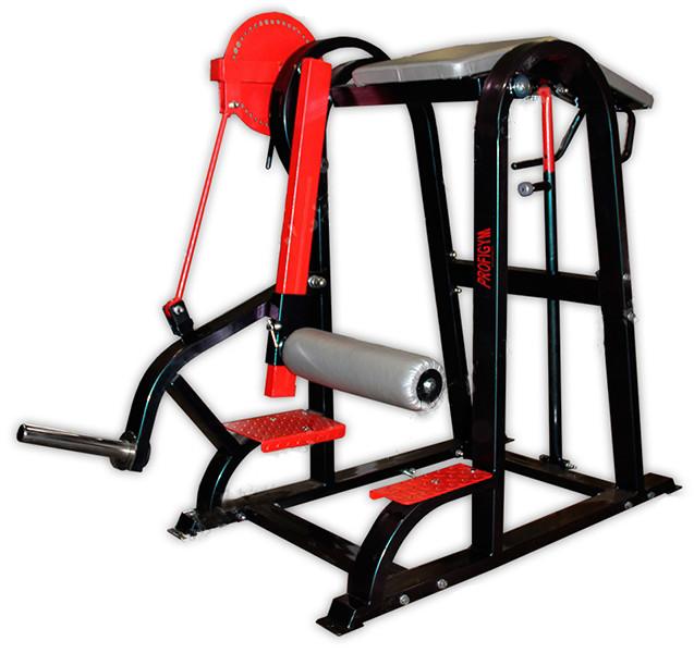 ТД-028. Тренажер для нижней части спины и бицепсов бедер комбинированный