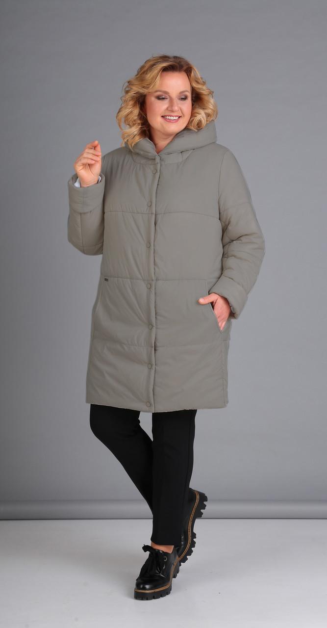 Куртка Диамант-1448/1, серый, 48