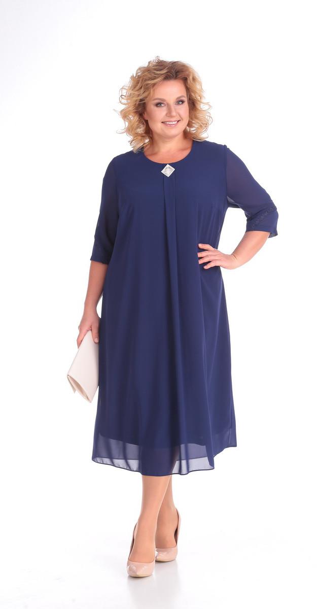 Платье Novella Sharm-3310-c, синий, 62
