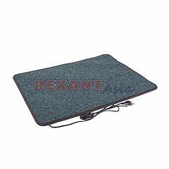 Коврик с подогревом REXANT, RNX-75, 220 В, 50 Гц, 75Вт, IPX1, 500х700 мм, (51-0551)