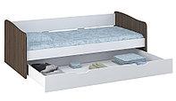 Двухъярусная кровать Polini 4210 белый-трюфель