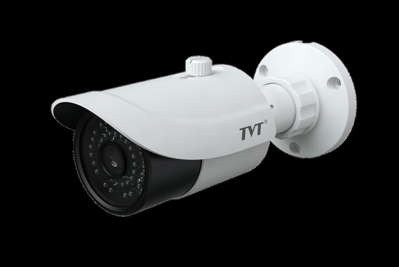 5Мп  IP-камера с функцией обнаружение лица TVT TD-9452E2A(D/AZ/PE/AR3)