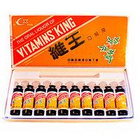 Царь-Витамин,  Эликсир «Вэй Та Мин Ван» (Wei Ta Ming Wang), 10Х10 мл.