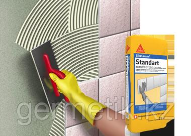 Клей Sika Ceram Standart, клей на цементной основе, мешок 25 кг