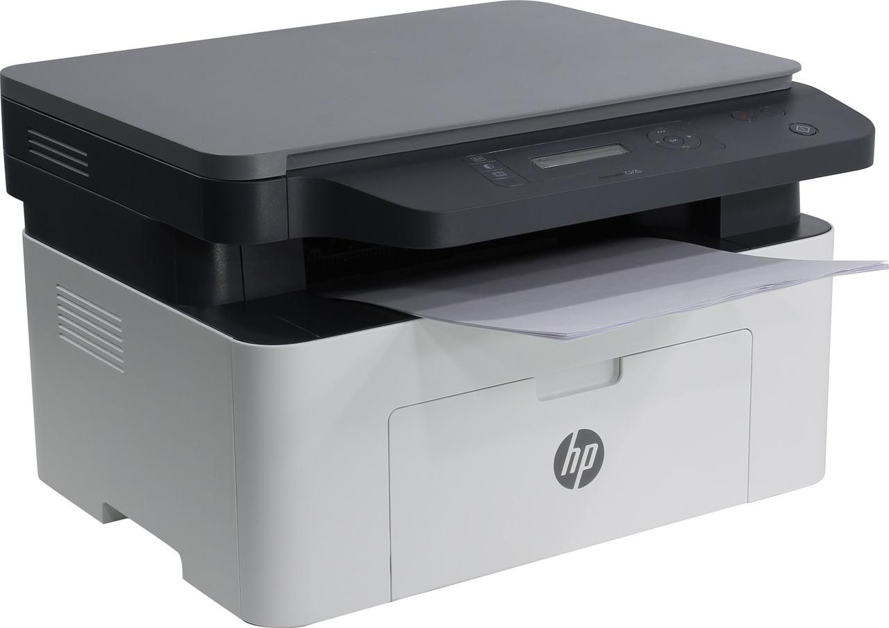 МФУ HP 4ZB83A HP Laser MFP 135w Printer (A4) , Printer/Scanner/Copier, 1200 dpi, 20 ppm, 128 MB, 600 MHz, 150
