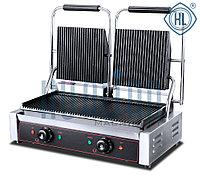 Контактный прижимной электрогриль HEG-813E
